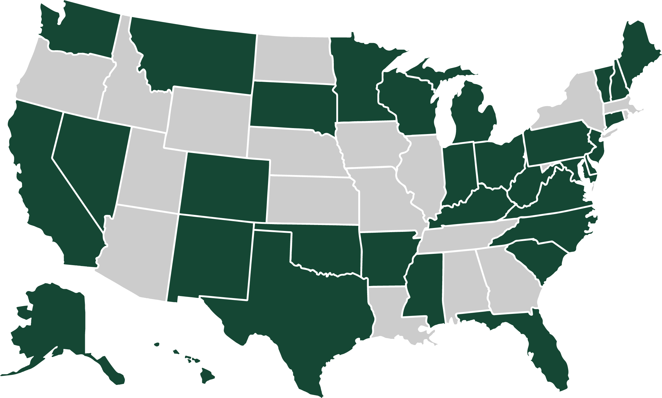 DNP state authorization map